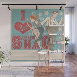 I Love to dance... Collegiate Shag Wall Mural
