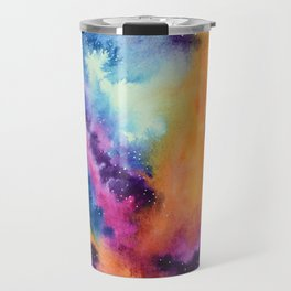 Galaxy lights, colours of Sky Travel Mug