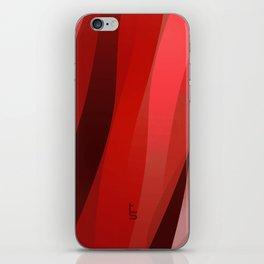 Red Twist iPhone Skin
