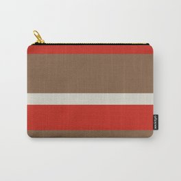 Dusty White Bitter Fawn Band Carry-All Pouch