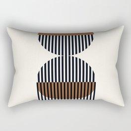 Abstraction_SUN_RISE_LINE_POP_ART_Minimalism_0022A Rectangular Pillow