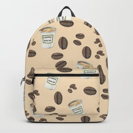 Coffee break Pattern Backpack
