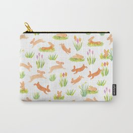 Jumping bunnies Carry-All Pouch
