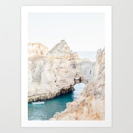 Algarve Cliffs Art Print