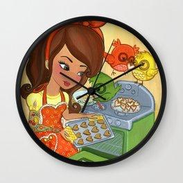 Sugar Chirps Wall Clock
