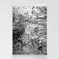 leaves Stationery Cards featuring Branches & Leaves by David Bastidas