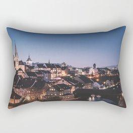 sleepy town Rectangular Pillow