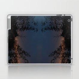 Mirrored Trees 2 Laptop & iPad Skin