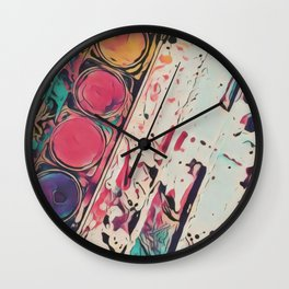 Color Wall Clock