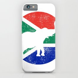 Elephant South Africa Safari Vintage Gift T-Shirt iPhone Case