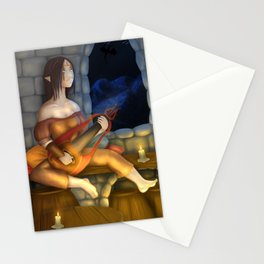 Skyrim Bard Stationery Cards