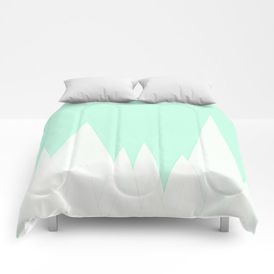 Winter Landscape Comforters