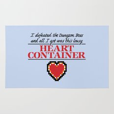 Lousy Heart Container Rug