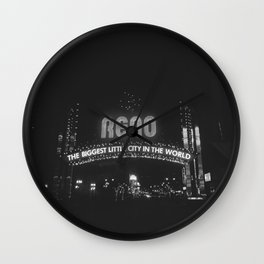 City of Reno, NV Wall Clock