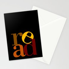 read love Stationery Cards