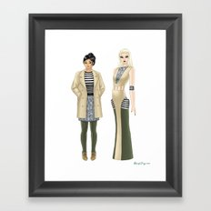 Fashion Journal: Day 16 Framed Art Print