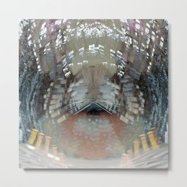 Hurtling in a void despite obstinate machinations, 1. Metal Print