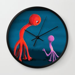 Mabel and Rennie Wall Clock