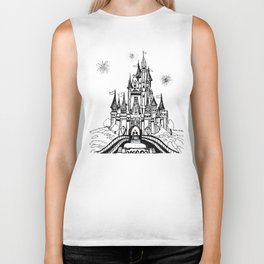 Mouse in Love Biker Tank
