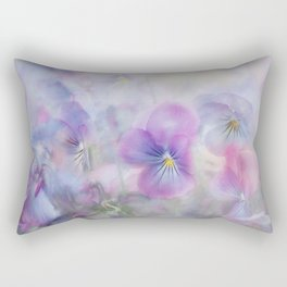 little pansies Rectangular Pillow
