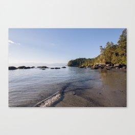 Sooke Beach III Canvas Print
