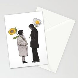 Harold and Maude Sunflower and Daisy Stationery Cards
