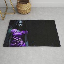 Girl in Purple Rug