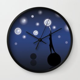 The dark is necessary to see the stars... Wall Clock