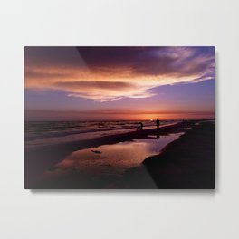 just another sunset Metal Print
