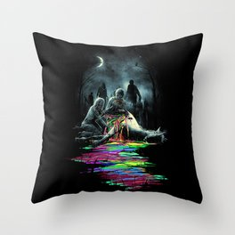 Midnight Snack Throw Pillow