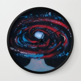 Galaxy Portrait 1 Wall Clock