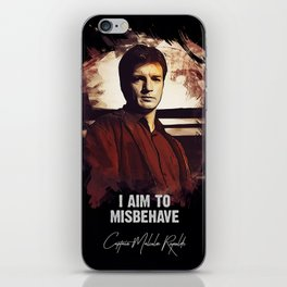 Captain Malcolm Reynolds - FIREFLY iPhone Skin