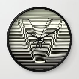 V for the Valley Wall Clock