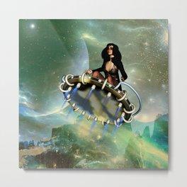 Flying fairy Metal Print