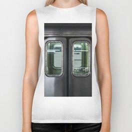 New York City Subway Biker Tank