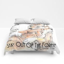MFM: Stay Out of the Forest Comforters