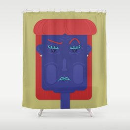 Unsatisfied Customer Five Shower Curtain