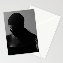 Ski mask Stationery Cards