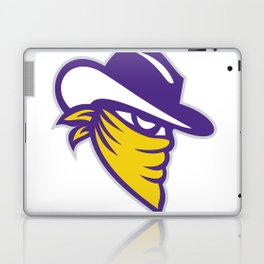 Bandit Covered Face Icon Laptop & iPad Skin