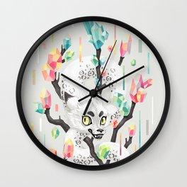 Dragon and His Treasure Wall Clock