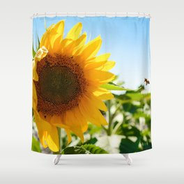 Sunny Hunny Shower Curtain