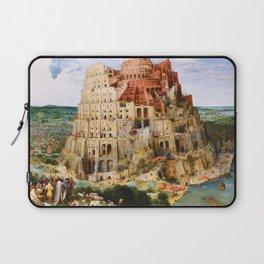 12,000pixel-500dpi - Pieter Bruegel - Tower Of Babel - Digital Remastered Edition Laptop Sleeve