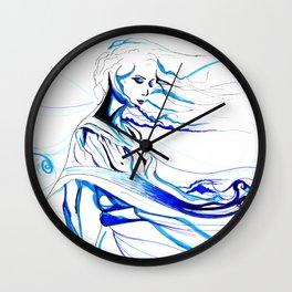 Wind Mistress Wall Clock