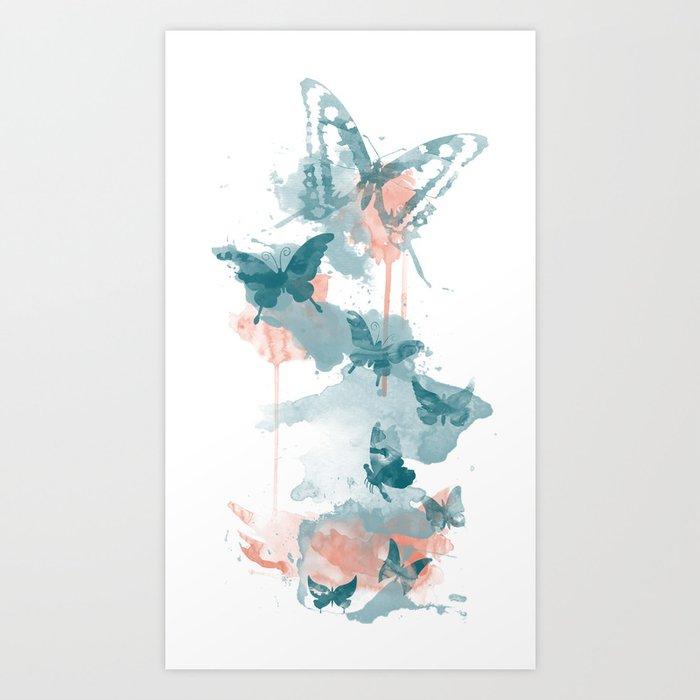 Butterflight Art Print
