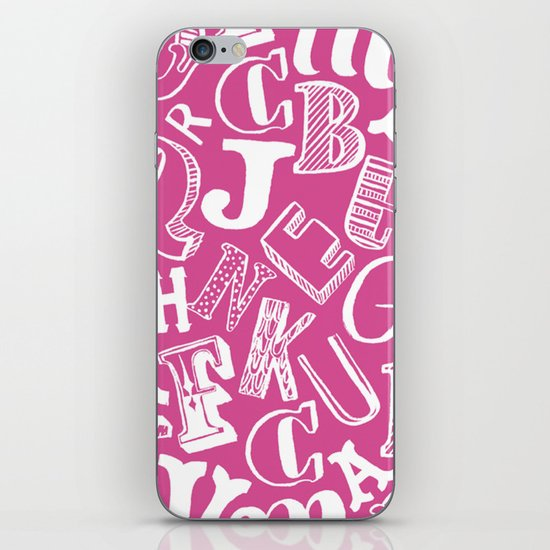 A-Z iPhone & iPod Skin