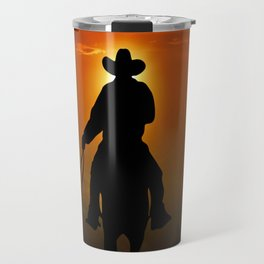 Riders To The West Travel Mug