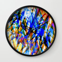 Abstract design - pattern - Wall Clock