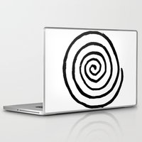 fibonacci Laptop & iPad Skins featuring Fibonacci by Geryes