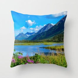 God's_Country - II Throw Pillow