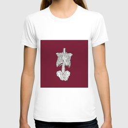 Human Skeleton Anatomy Illustration T-shirt